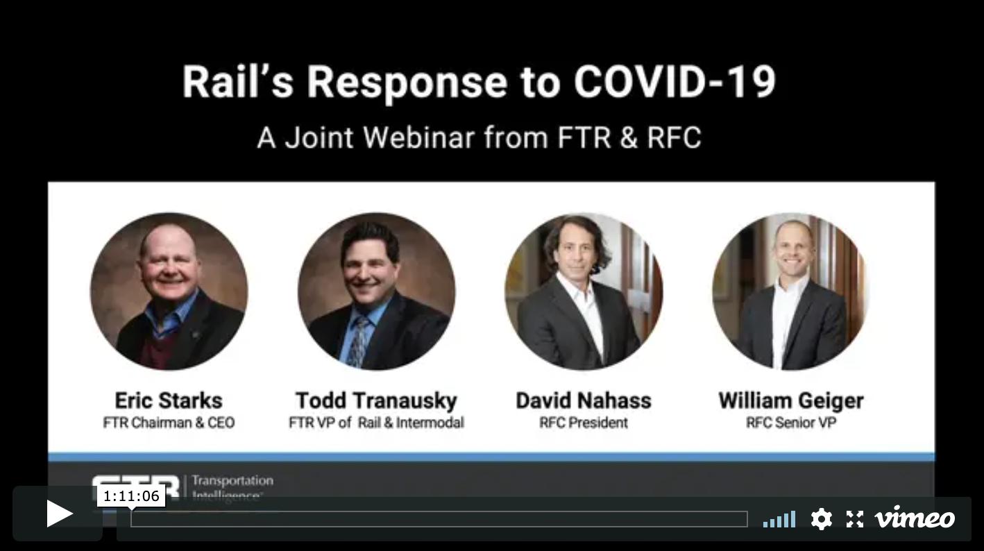 Webinar Replay: Rail's Response to COVID-19