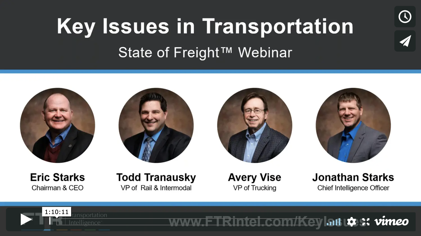 Key Issues in Transportation Webinar