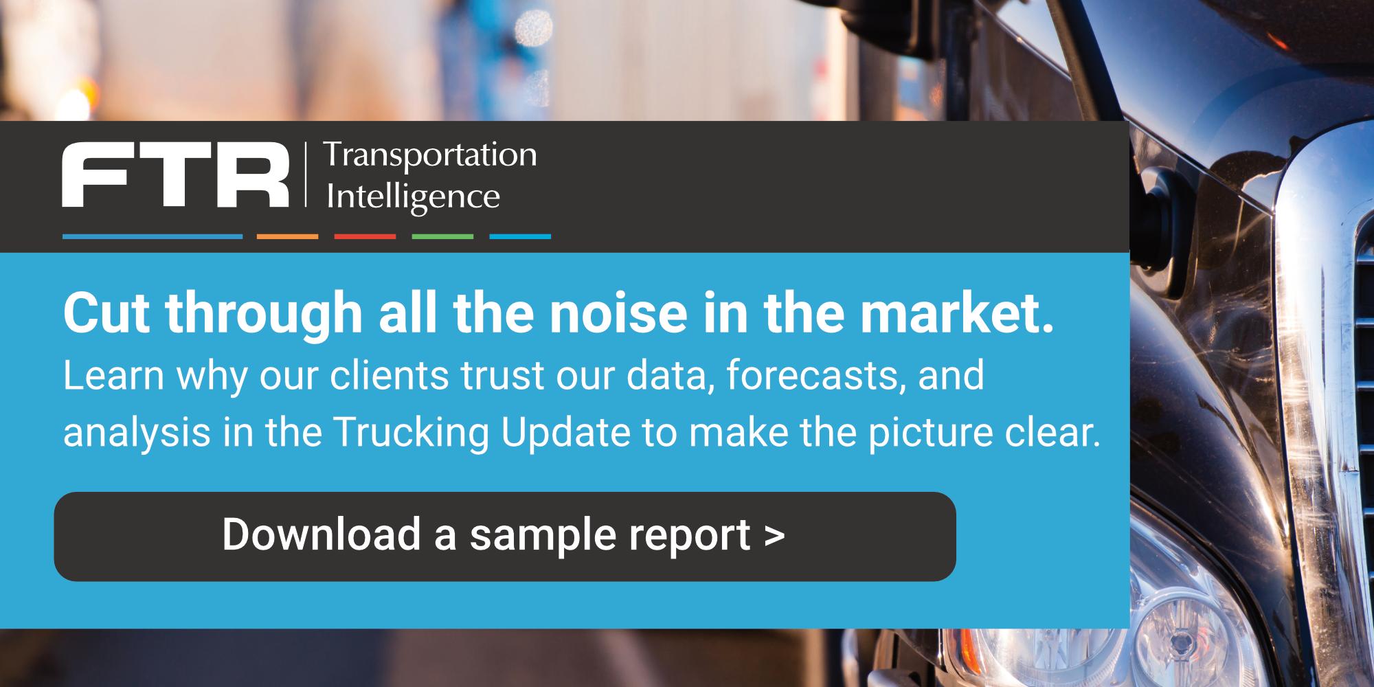 Cut through the noise-Trucking Update - PR LP_v1