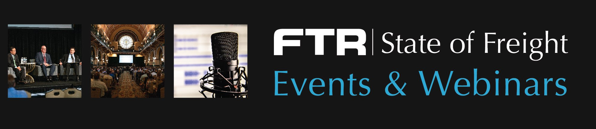 FTR State of Freight Events & Webinars
