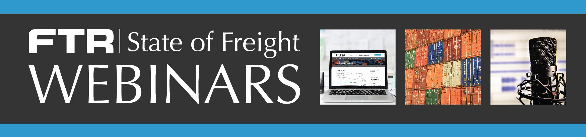FTR State of Freight Webinars
